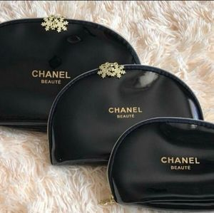 👝Set of 3 MAKEUP COSMETICS POUCHES BAGS